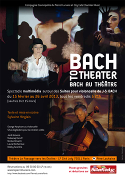 flyer Bach to theater