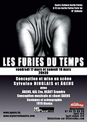 flyer les furies du temps
